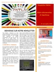 newsletter patla n 1