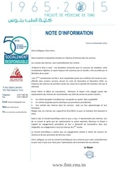 note information 2eme annee