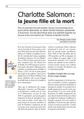 article charlotte salomon