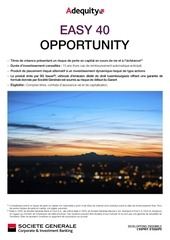 brochure easy 40 opportunity