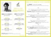 menus plateaux repas