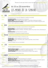Fichier PDF menus