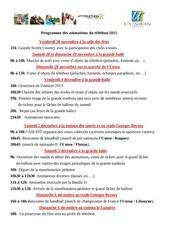 programme 2015 l union