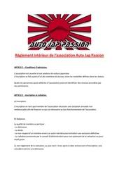 reglement interieur ajp 2