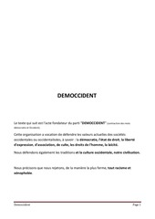 Fichier PDF democcident