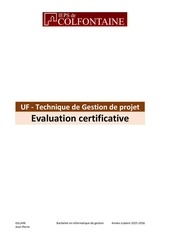 Fichier PDF examen