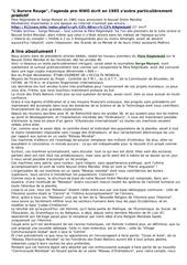 Fichier PDF l aurore rouge comment manipuler
