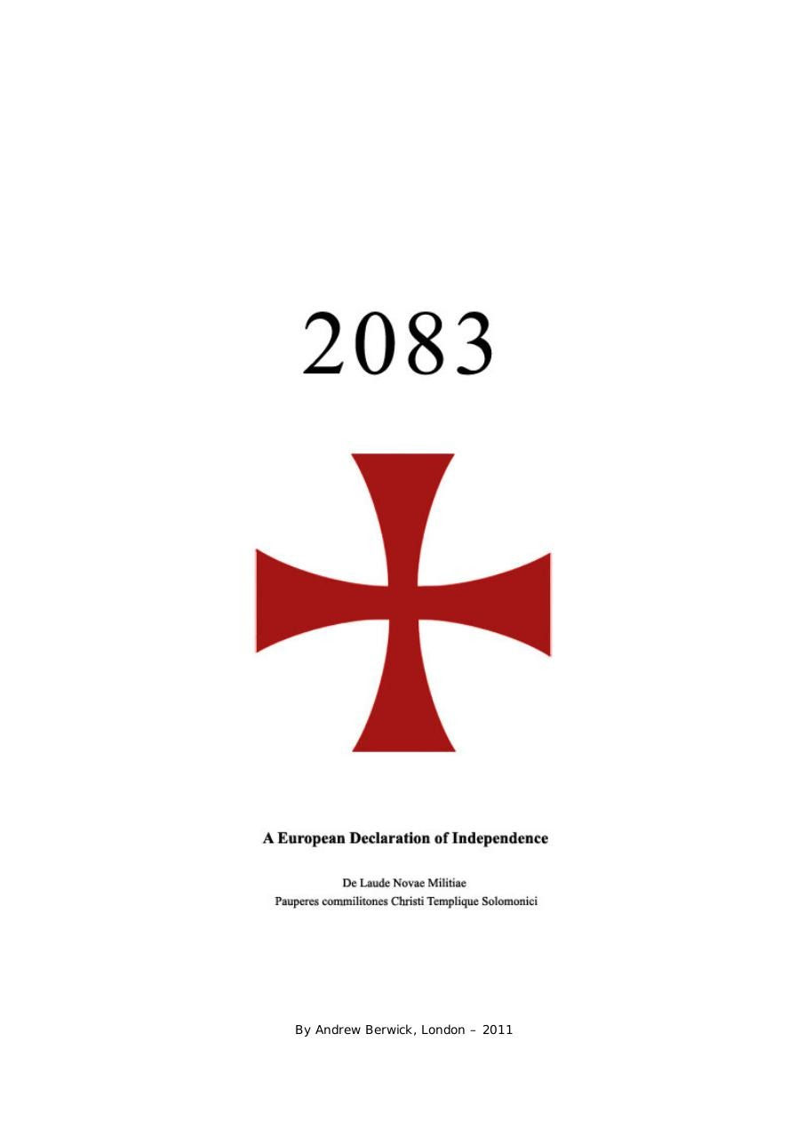 manifeste anders behring breivik fichier pdf