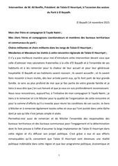 intervention m benflis a el bayadh 14112015