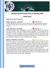 Fichier PDF resultats matches hbcv 14 15 nvembre 2015