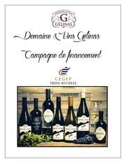 Fichier PDF vente de vin financement de stage