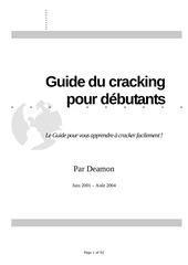 apprendre le craking