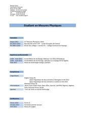 cv kevin pdf