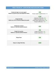 Fichier PDF prixdesign 1