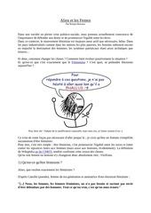 Fichier PDF alien et les femen