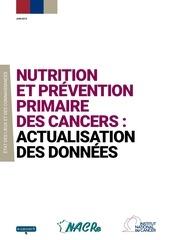 c nutrition prevention primaire des cancers 2015