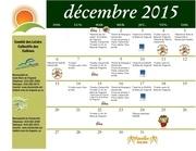 calendrier decembre 2015