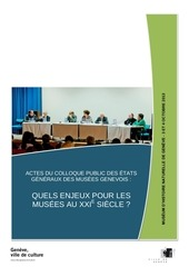 actes colloque culture ville geneve