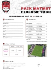 bdc pack matmut exclusif tour