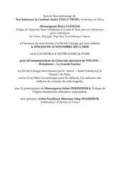 invitation notre dame de paris 2015