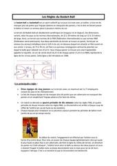 les regles du basket en pdf