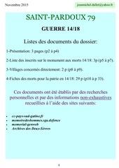 dossier 14 18 st pardoux 33p 11 2015
