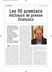 l evenement interview
