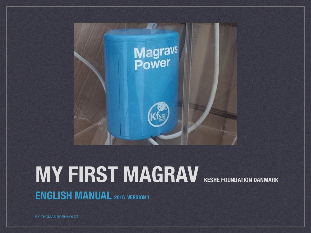 Power units magrav How To