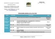 programme gereral filo 2015