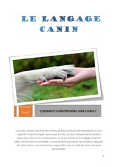 language canin