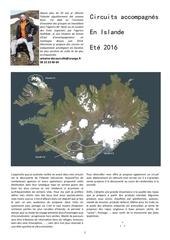 treks et randonnees en islande ete 2016
