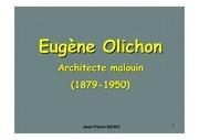 eugene olichon architecte saint malo