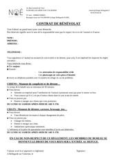 Fichier PDF contrat benevole