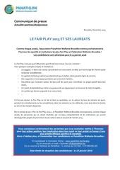 cp prix fair play 2015