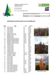 dispo plantes de haies 2015