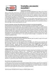Fichier PDF youtube