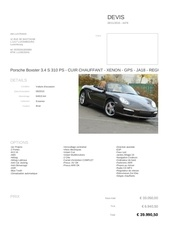 offer porsche boxster
