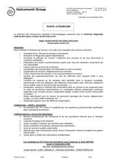 Fichier PDF offre d emploi 2