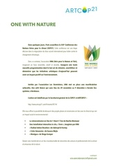 programmation one with nature artcop21 bordeaux 25 11