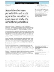kodovazenitis et al 2014 journal of periodontal research