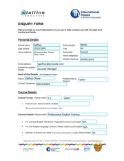 intuition languages enquiry form 2015