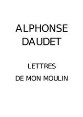 Fichier PDF alphonse daudet les lettres de mon moulin