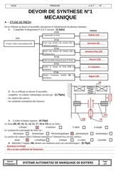 correction ds1 systeme automatise de marquage de boites