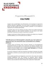 rousset2015 programme culture