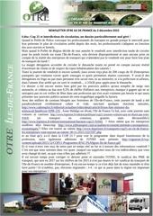 news otre idf 2 decembre 2015
