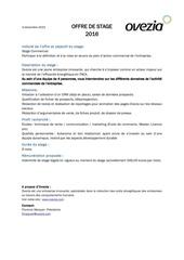 Fichier PDF offre de stage ovezia commercial 02 16