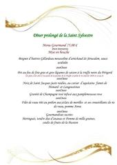 menu 31 decembre 2015 2
