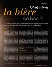 pages de gourmets de france mag18 nov2015 biere de noel