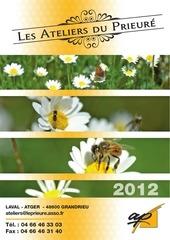 catalogues des ateliers du prieure 2012 1