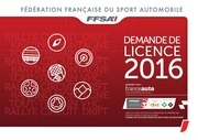formulaire demande licences vierge 2016